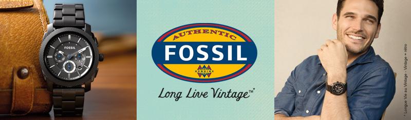 la meilleure attitude a14af 192c6 Montres Fossil - Bijouterie Bassereau - Vente en ligne de ...