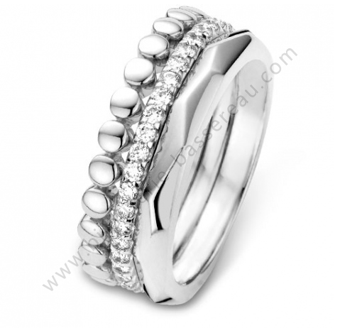 Bague Alliance Diamant One More Om54709 A