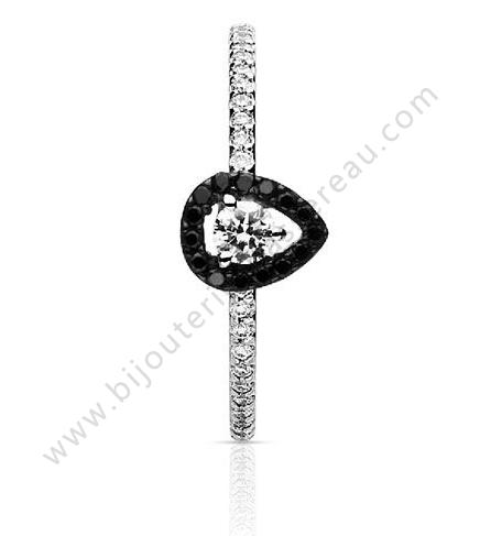47583a2Bijoux More One Vente Bassereau Diamant Noir Bague De TlwOPZukXi