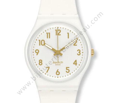 vente de montre white bishop swatch gw164 bijoux bassereau swiss made swatch. Black Bedroom Furniture Sets. Home Design Ideas