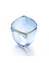 bague bleue pop cristal baccarat 2809309