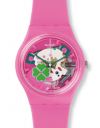 montre silicone rose flowerfull swatch GP147